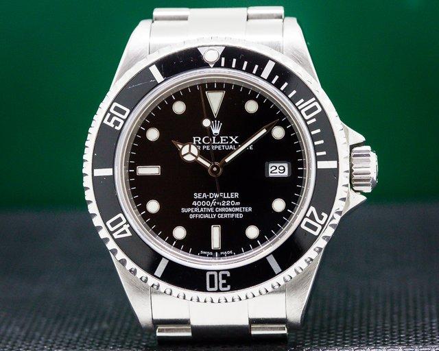 Rolex 16600 Sea Dweller SS / SS