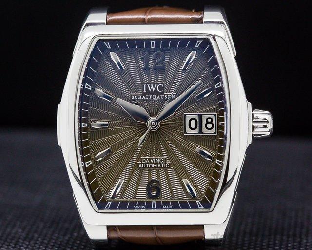 IWC IW452306 Da Vinci Automatic Steel / Brown Dial