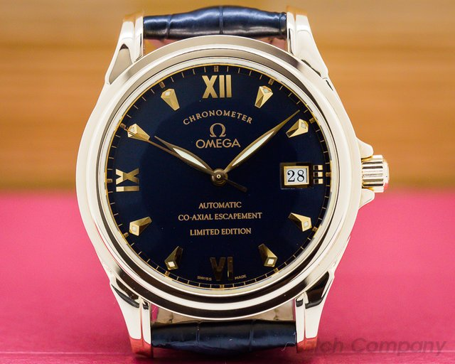 Omega 5931.81.23 De Ville Co Axial Rose Gold Limited
