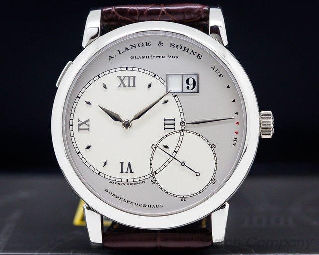 A. Lange and Sohne 115.025 Grand Lange 1 Platinum