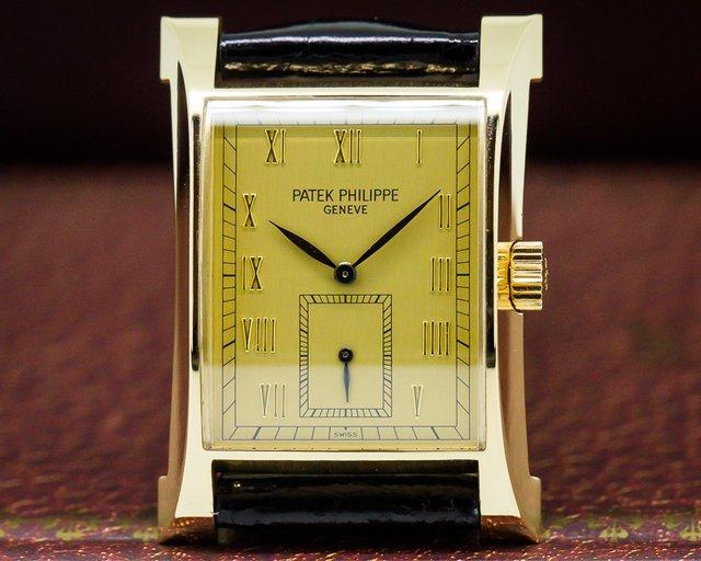 Patek Philippe 5500J Pagoda 18K Yellow Gold / Gold Dial