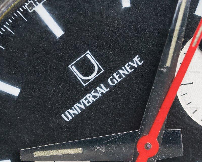 """Universal Geneve 885103/01 Vintage UG """"Evil Nina"""" Compax Chronograph"""