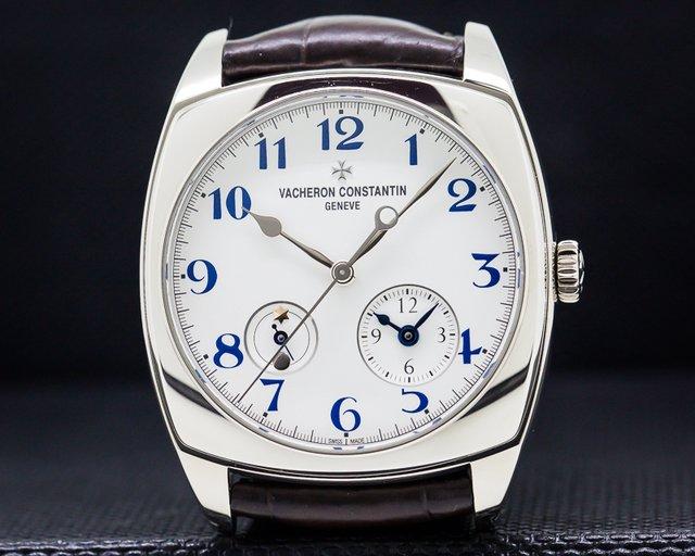 Vacheron Constantin 7810S/000G-B050 Harmony Dual Time 18K White Gold LIMITED