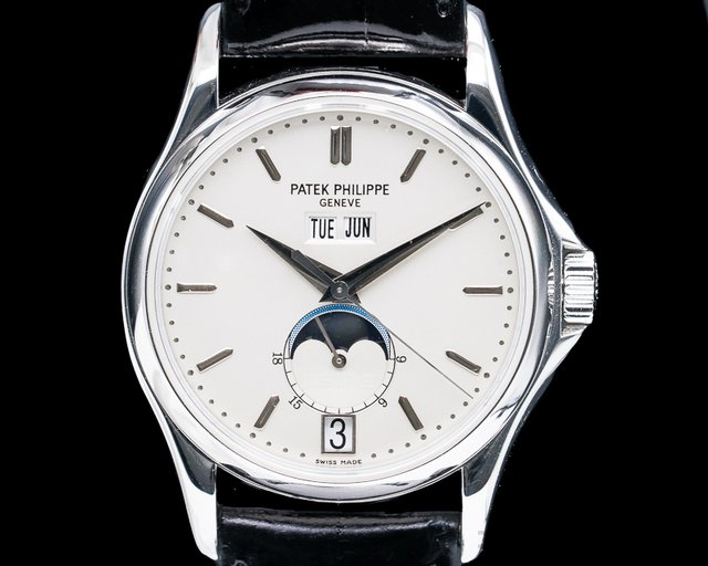 "Patek Philippe 5125G-010 Annual Calendar ""Wempe"" Limited Edition to 125 Pieces 18K White Gold"