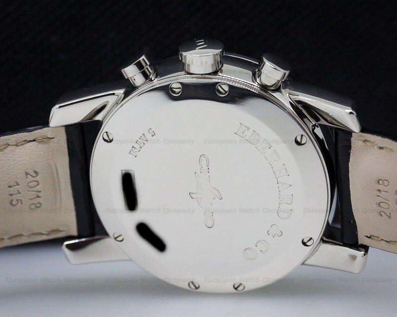 Eberhard 31041 Chrono 4 Silver Dial SS