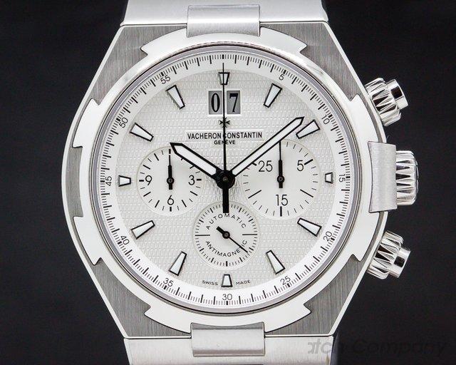Vacheron Constantin 49150/B01A-9095 Overseas Chronograph White Dial SS / SS