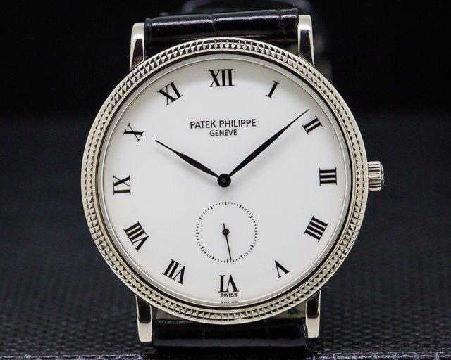 Patek Philippe 3919G-001 Calatrava 18k White Gold