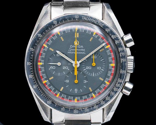 "Omega 145.022-69 ST Racing 1969 Speedmaster ""Racing"" Exotic Dial RARE"