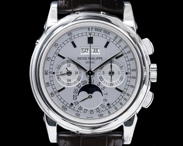 Patek Philippe 5970G-001 Perpetual Calendar Chronograph White Gold FULL SET / PP Serviced