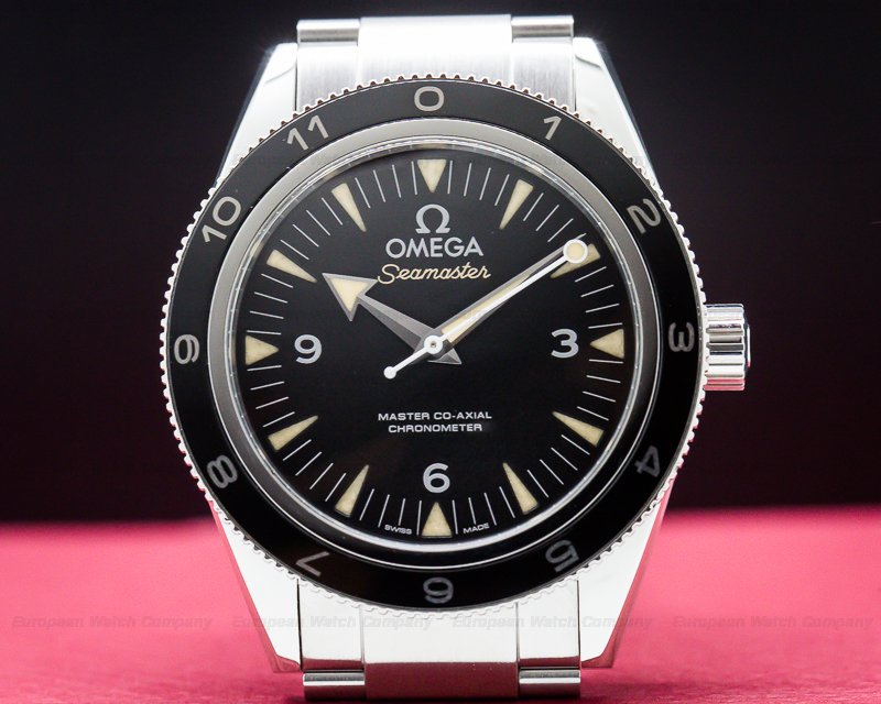 Omega 233.32.41.21.01.001 Omega Seamaster 300M Limited Edition SPECTRE
