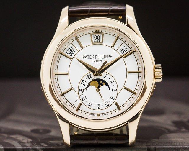 Patek Philippe 5205R-001 Annual Calendar Silver Dial 18K Rose Gold