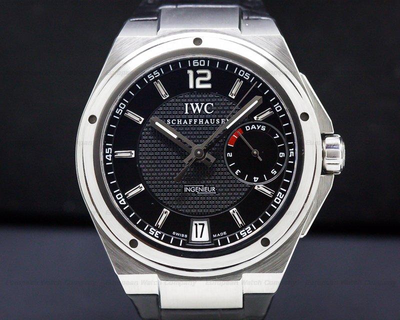 IWC IW500501 Big Ingenieur SS/Strap Black