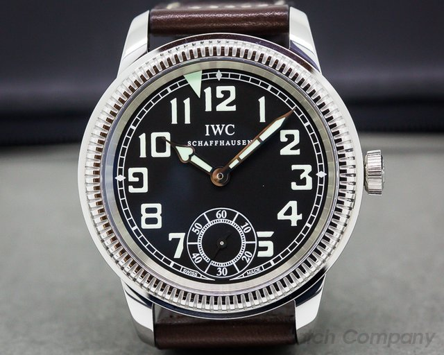 IWC IW325401 Pilot's Watch Vintage Collection Manual SS
