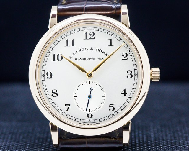 A. Lange and Sohne 206.032 1815 18K Rose Gold Silver Dial