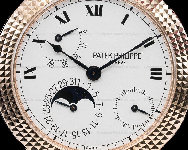 Patek Philippe 5057R Cortina Jubilee 18K Rose Gold Hobnail Bezel LIMITED