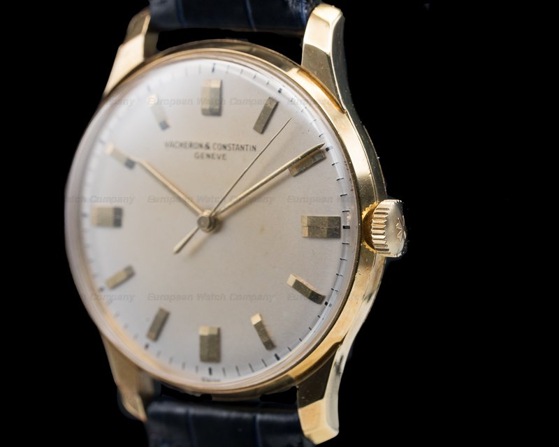 Vacheron Constantin 6140 Vintage Manual Wind 18K Yellow Gold Circa 1960