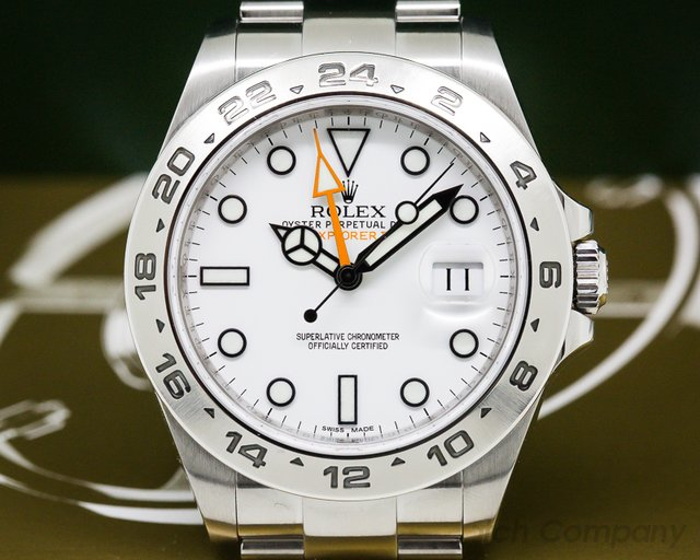 Rolex 216570 Explorer II White Dial