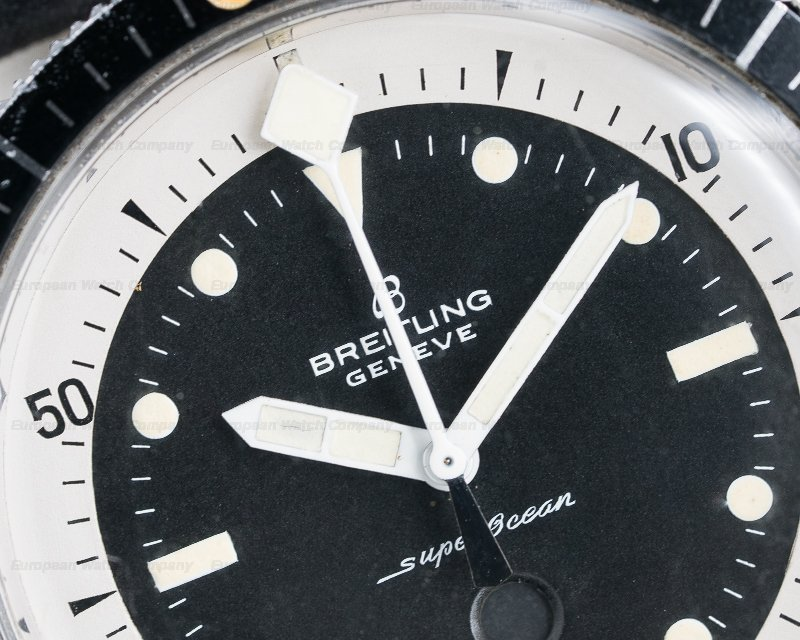 "Breitling 2005 Vintage Breitling SuperOcean ""Slow Counter"" Chronograph RARE"
