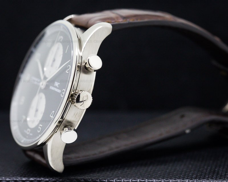 IWC IW371413 Portuguese Chronograph White Gold/White Gold Buckle