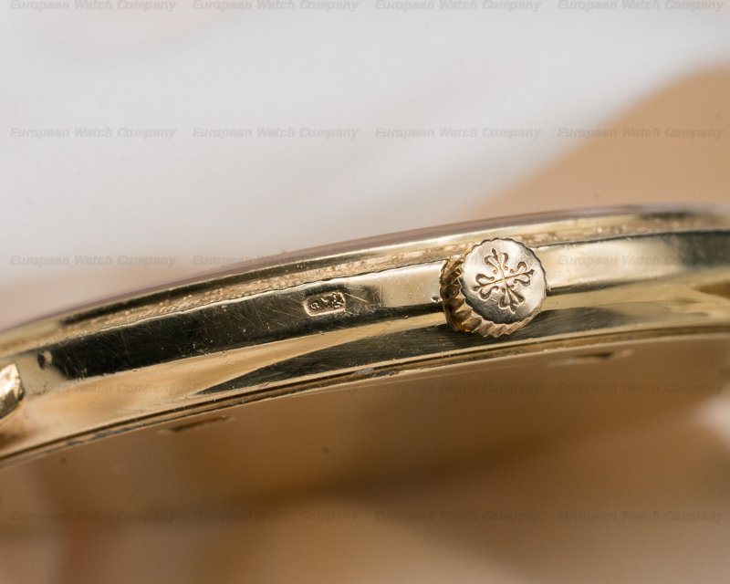 Patek Philippe 3520/12 Calatrava 18K Yellow Gold Manual Wind White Roman Dial