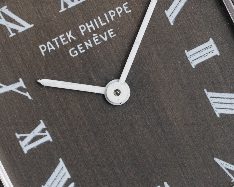 Patek Philippe 3494 Gondolo 18K White Gold Manual Wind Silver Roman Dial