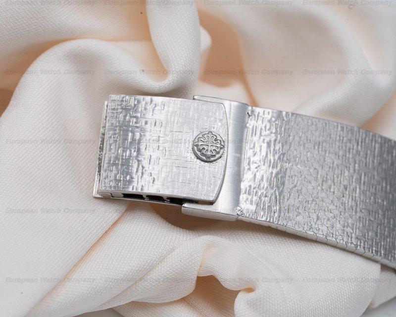 Patek Philippe 3571/1 Gondolo 18K White Gold Manual Wind Blue Dial