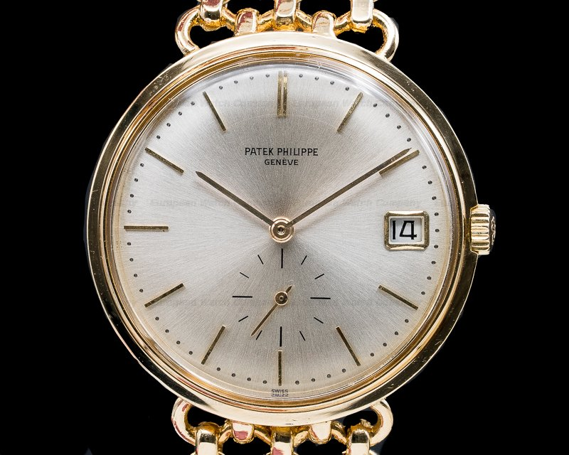 Patek Philippe 3445/11 Vintage Calatrava Automatic 18K Yellow Gold /