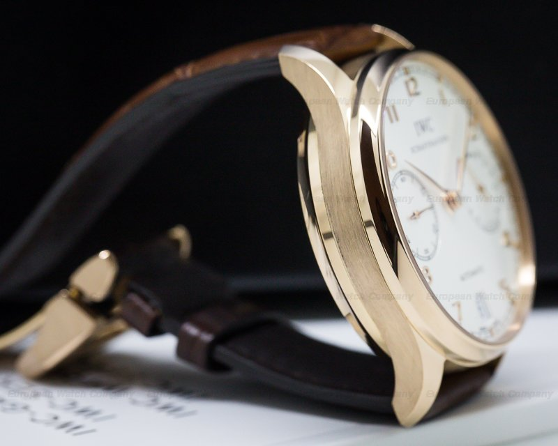IWC IW500113 Portuguese 7 Day Automatic 18K Rose Gold