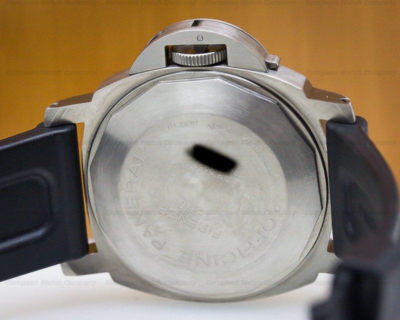 Panerai PAM00093 Luminor Power Reserve Titanium Blue Dial 44MM