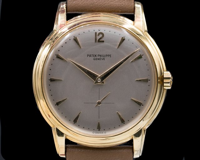 Patek Philippe 2551 Calatrava 2551 Automatic 'DISCO VOLANTE' 18K Yellow Gold