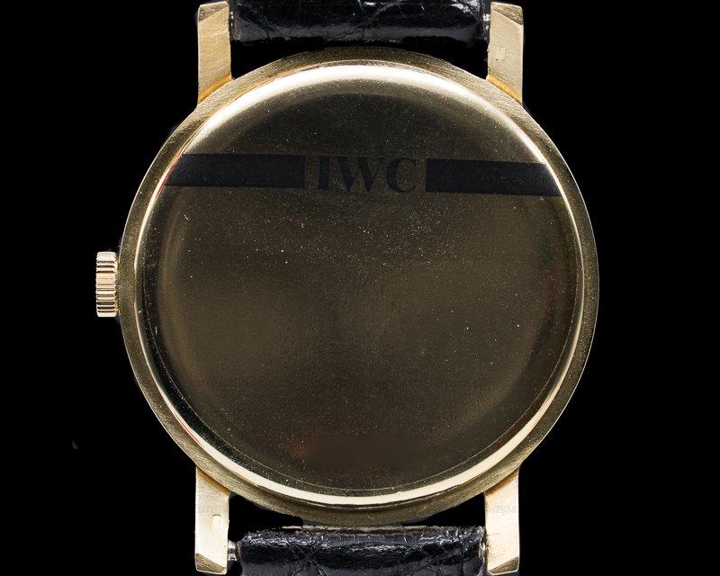 IWC Caliber 402 18k Yellow Gold