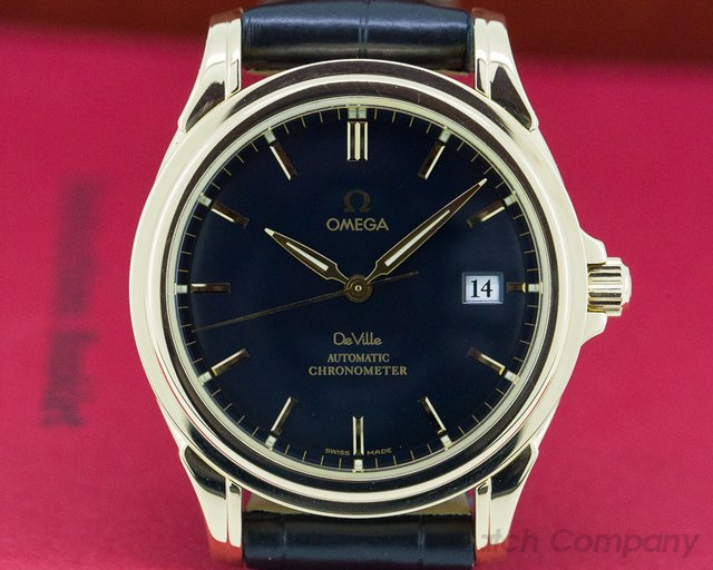 Omega 4631.80.00 De Ville Co-Axial 18K Yellow Gold