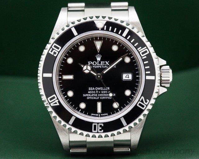 Rolex 16600 Sea Dweller SS / SS COMPLETE