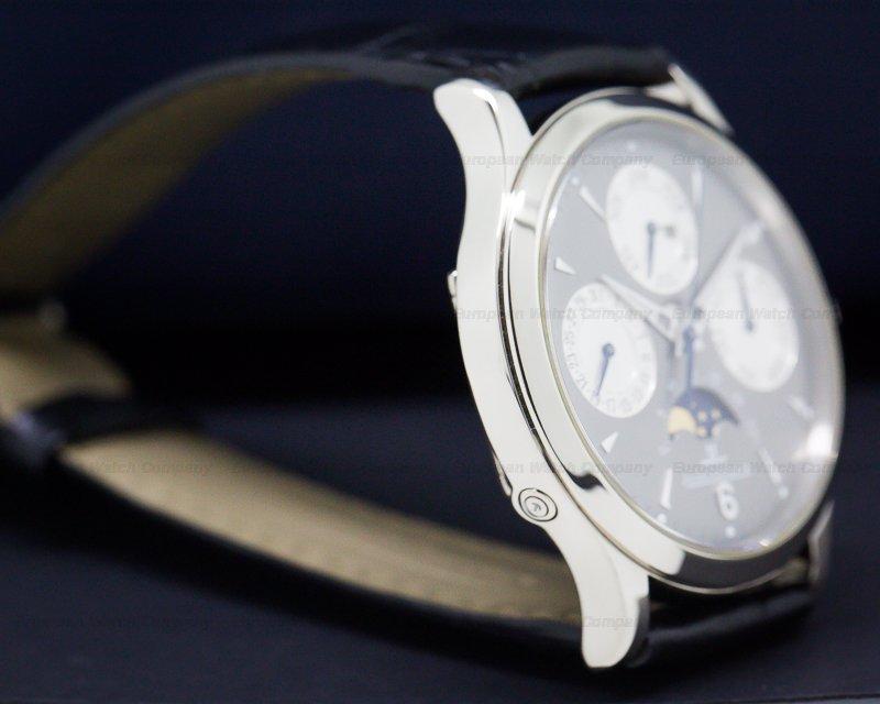 Jaeger LeCoultre 149347A Perpetual White Gold Grey Dial / 18K Deployant