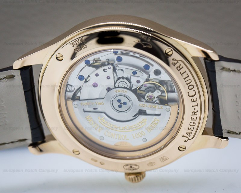 Jaeger LeCoultre Q1542520 Master Control Automatic 18k Rose Gold