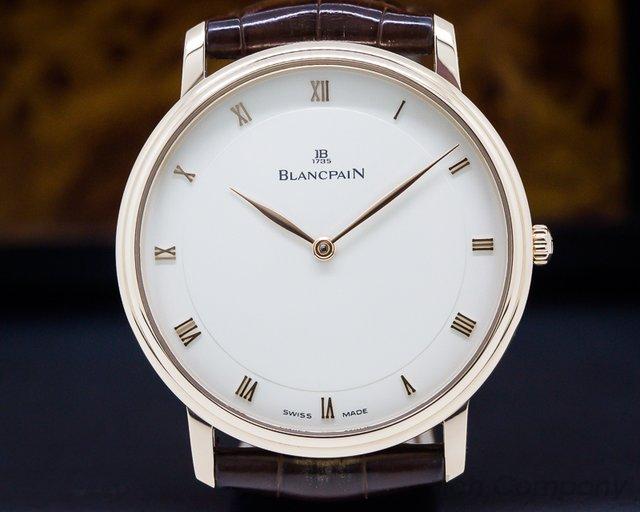 Blancpain 4053-3642-55 Ultra Slim Villeret Automaitc 18K RG