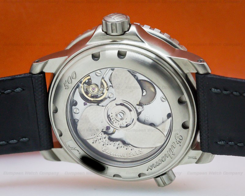 Blancpain 50015-12B30-52B 500 Fathoms Titanium Silver Dial Limited Edition to 50 Pieces
