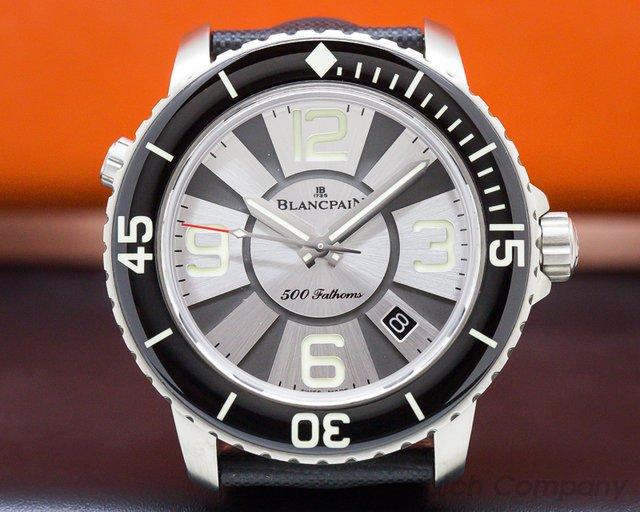 Blancpain 50015-12B30-52B 500 Fathoms Titanium Silver Dial Limited Edition to 50 Pieces