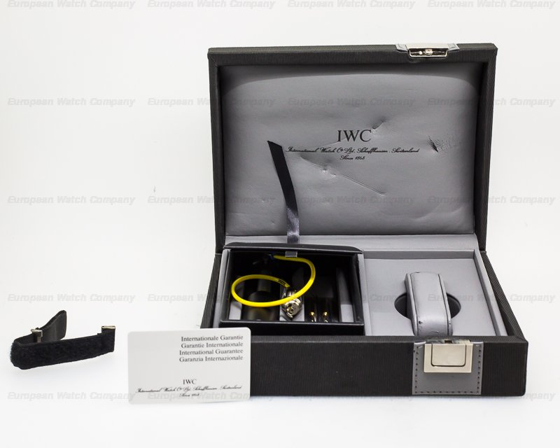 IWC 3527 GST Deep One Titanium RARE / Full Set