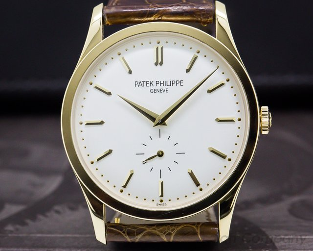 Patek Philippe 5196J-001 Calatrava 18K Yellow Gold Manual Wind