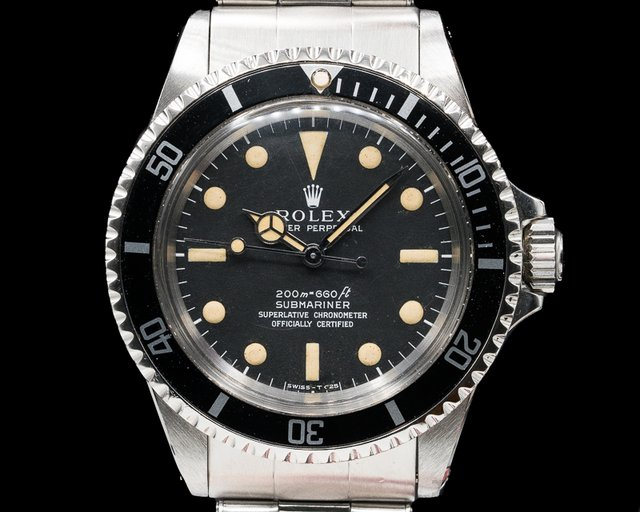 Rolex 5512 Vintage Meters First Matte Dial Submariner SS / SS