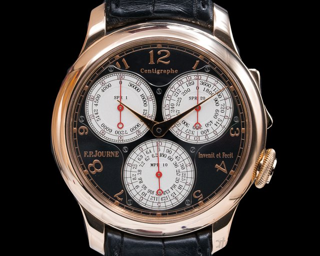F. P. Journe Centigraphe Boutique Edi Centigraphe Souverain BOUTIQUE EDITION 18K Rose Gold / Black Dial