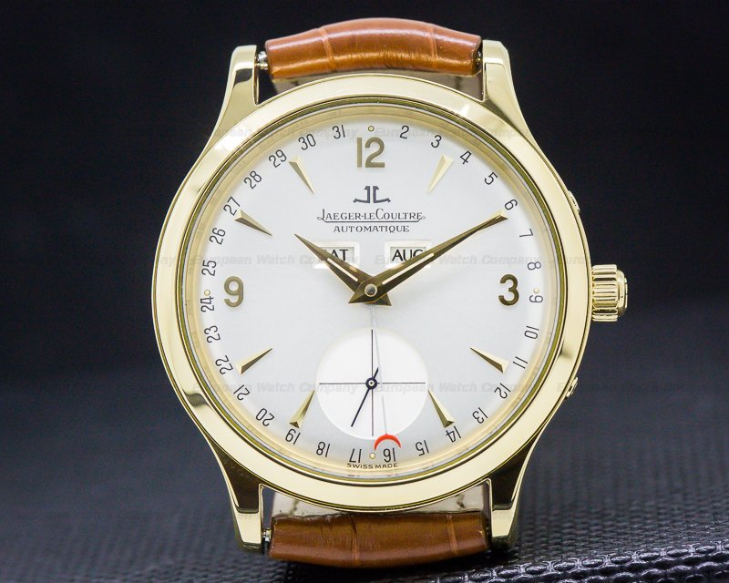 Jaeger LeCoultre 140.1.87 Master Date 18k Yellow Gold