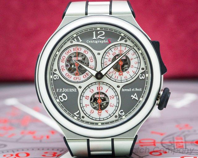 F. P. Journe Centigraphe Sport Alumin Centigraphe Sport Aluminum / Bracelet