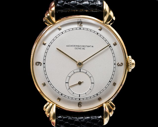 Vacheron Constantin     Vintage Manual Wind 18K Yellow Gold Circa 1960s
