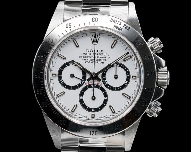 Rolex 16520 Daytona SS White Dial Zenith Movement T Series FULL SET UNPOISHED