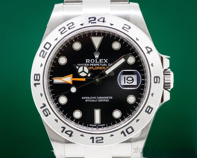 Rolex 216570 Explorer II Black Dial SS / SS UNWORN