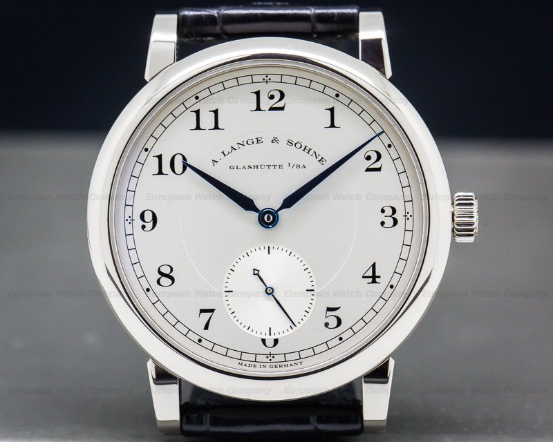 A. Lange and Sohne 233.026 1815 18K White Gold Manual 40MM / Deployment