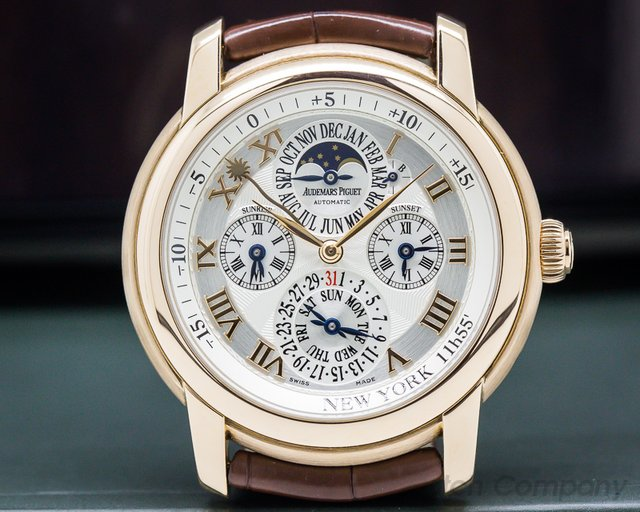 Audemars Piguet 26003OR.OO.D088CR.01 Jules Audemars Equation of Time 18K Rose Gold