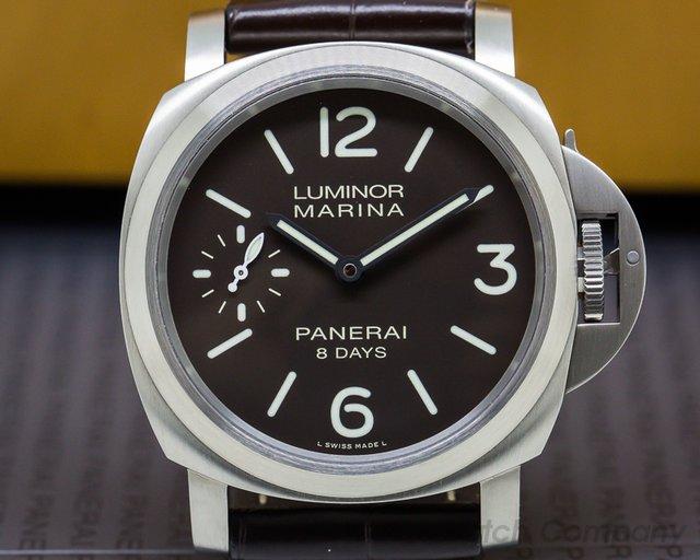Panerai PAM00564 Luminor Marina 8 Day Manual/ Titanium